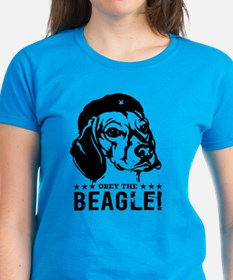 Beagle Revolution! Women's Dark t-shirt