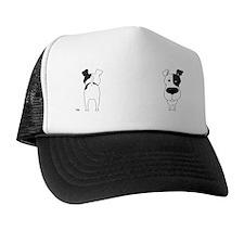 BlkFoxTerrMug Trucker Hat