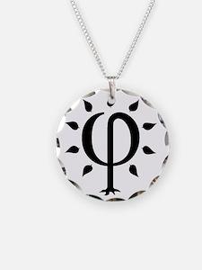 PhiTree_lg_black Necklace