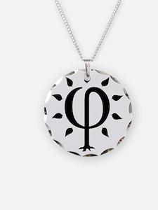 PhiTree_sm_black Necklace