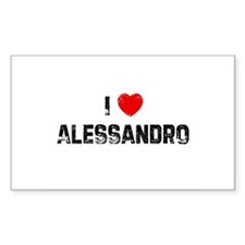 I * Alessandro Rectangle Decal
