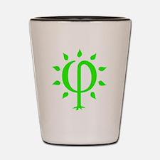 PhiTree_sm_litegreen Shot Glass