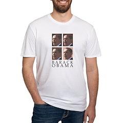 Barack Obama Fitted USA T-Shirt