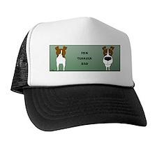 BrnFoxTerrDadMug Trucker Hat