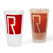 SuperR Drinking Glass