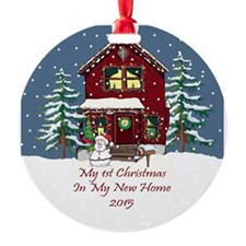 2015 My 1St Christmas House Ornament