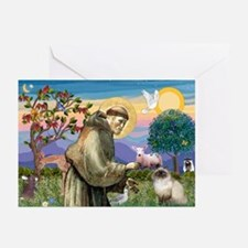 St Francis Himalayan Greeting Cards (Pk of 10)