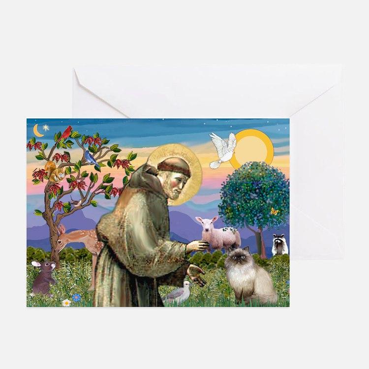 St Francis Himalayan Greeting Cards (Pk of 10)