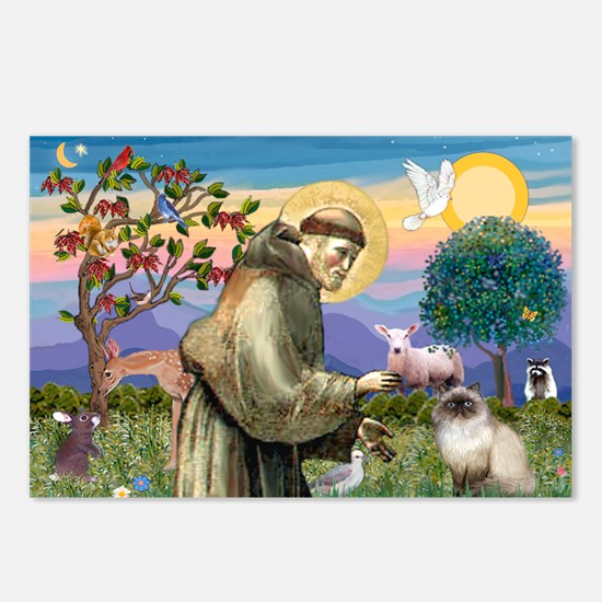 St Francis Himalayan Postcards (Package of 8)