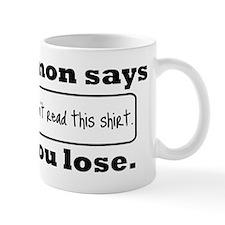 SimonSaysT Mug