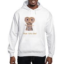 70s owl Hoodie