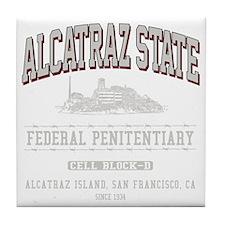 ALCATRAZ_STATE_lcp Tile Coaster
