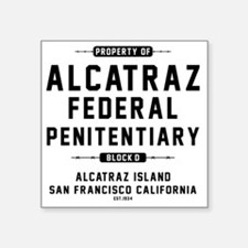 "ALCATRAZ_cp Square Sticker 3"" x 3"""