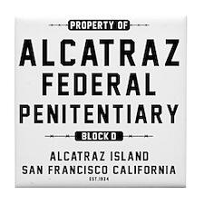 ALCATRAZ_cp Tile Coaster