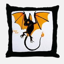 torchbat Throw Pillow