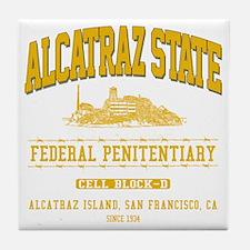 ALCATRAZ_STATE_ycp Tile Coaster