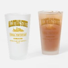 ALCATRAZ_STATE_ycp Drinking Glass