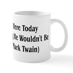 Mark Twain Jesus Quote Mug