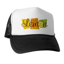 Retro Lemon Logo FINAL Trucker Hat