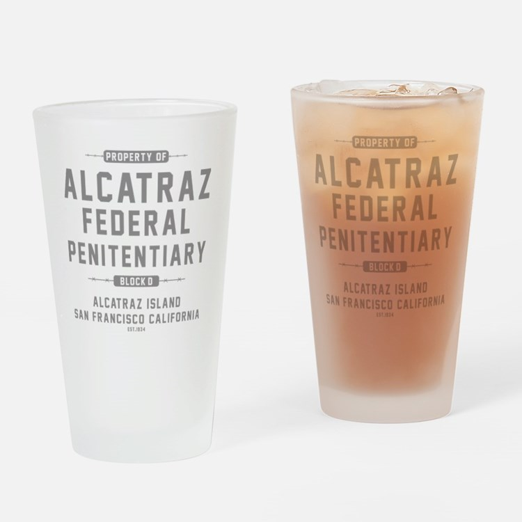 ALCATRAZ_gcp Drinking Glass
