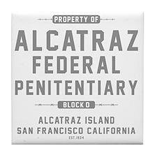 ALCATRAZ_gcp Tile Coaster