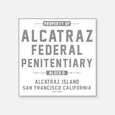 """ALCATRAZ_gcp Square Sticker 3"""" x 3"""""""