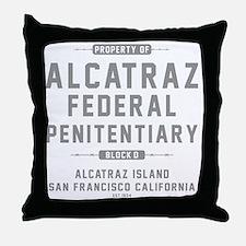ALCATRAZ_gcp Throw Pillow