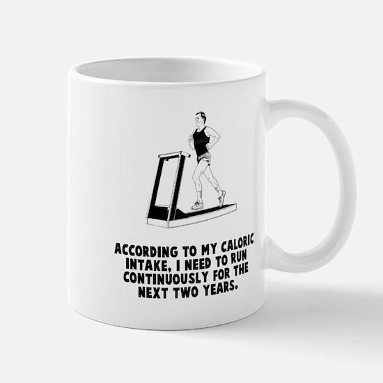 Caloric Intake Mug
