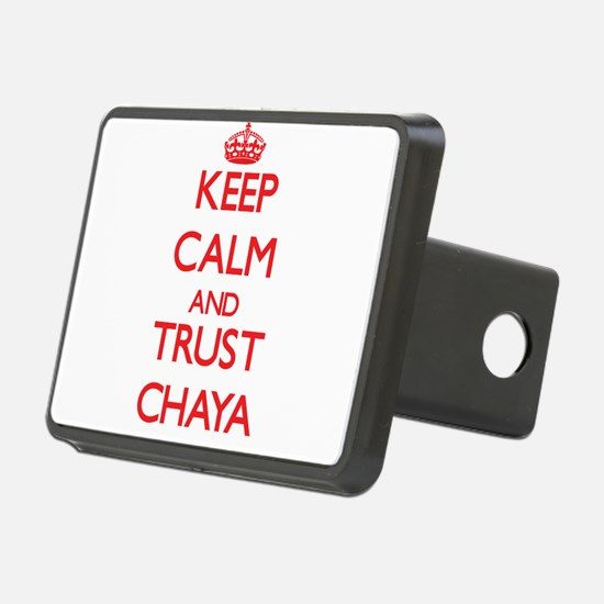 Keep Calm and TRUST Chaya Hitch Cover