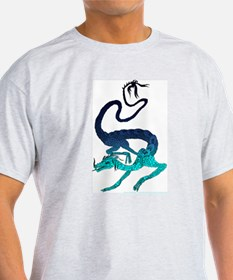 Cool Floating Dragon T-Shirt