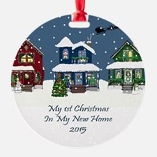 2015 My 1St Christmas House Ornament