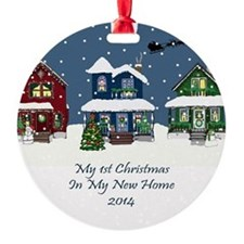 2014 My 1St Christmas House Ornament