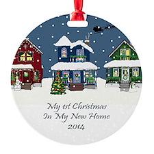 2014 My 1St Christmas House Ornament