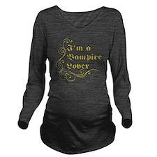 vampireLover Long Sleeve Maternity T-Shirt
