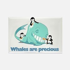 Whales_are_precious Rectangle Magnet