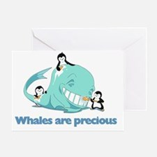 Whales_are_precious Greeting Card