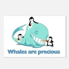 Whales_are_precious Postcards (Package of 8)