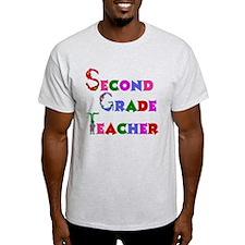 2nd Grade School Teacher T-Shirt