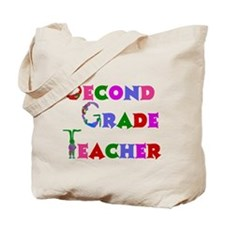 2nd Grade School Teacher Tote Bag