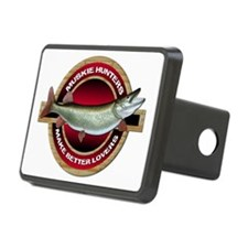 Muskie Musky Rectangular Hitch Cover