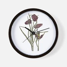 Mackintosh Tulip Design Wall Clock