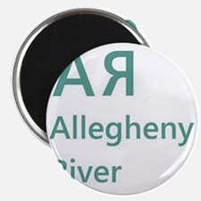 Allegheny River shirt Magnet