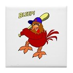 Angry Chicken Tile Coaster