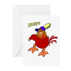 Angry Chicken Greeting Cards (Pk of 10)