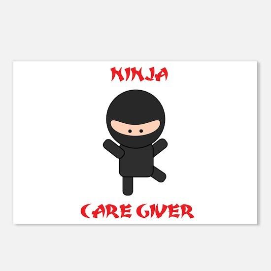 Ninja Caregiver Postcards (Package of 8)