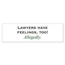 Lawyers Bumper Bumper Sticker
