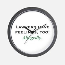 Lawyers Wall Clock