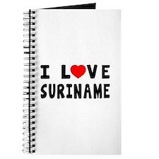 I Love Suriname Journal
