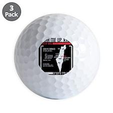 Jewish Trek T-Shirt Golf Ball