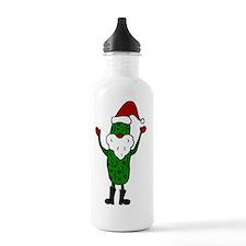 Funny Santa Claus Pick Water Bottle